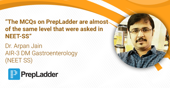 The MCQs on PrepLadder are almost of the same level that were asked