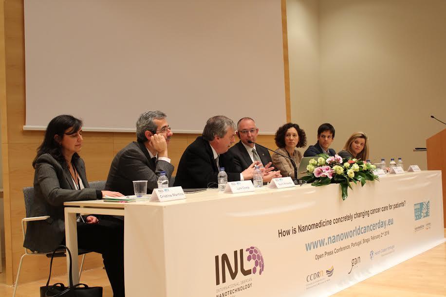 Avanços da nanotecnologia na luta contra o cancro debatidos no INL