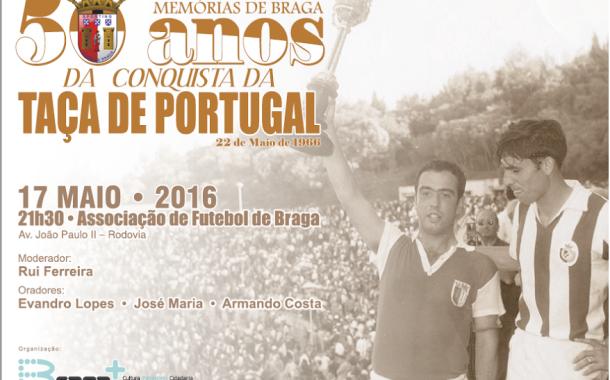 Braga + recorda esta terça-feira final da Taça de Portugal de 1966, conquistada pelos 'arsenalistas frente ao V. Setúbal