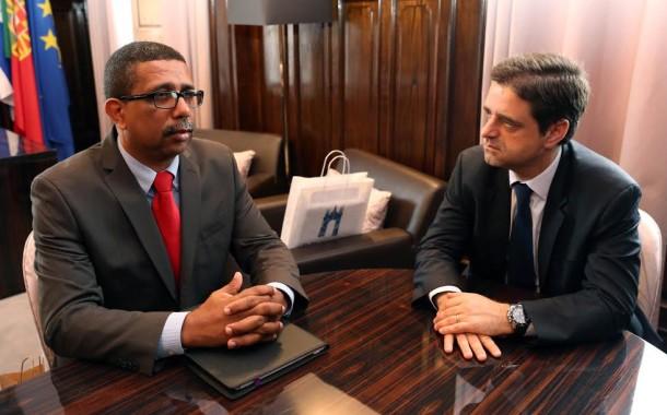 Ricardo Rio recebeu homólogo de Ribeira Brava, Cabo Verde; parcerias na área do desporto e economia na agenda