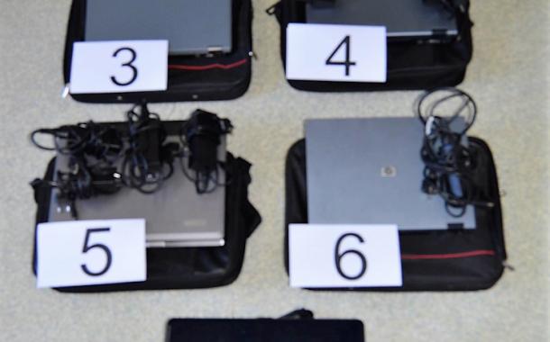 Cabeceiras de Basto: um detido e sete computadores recuperados