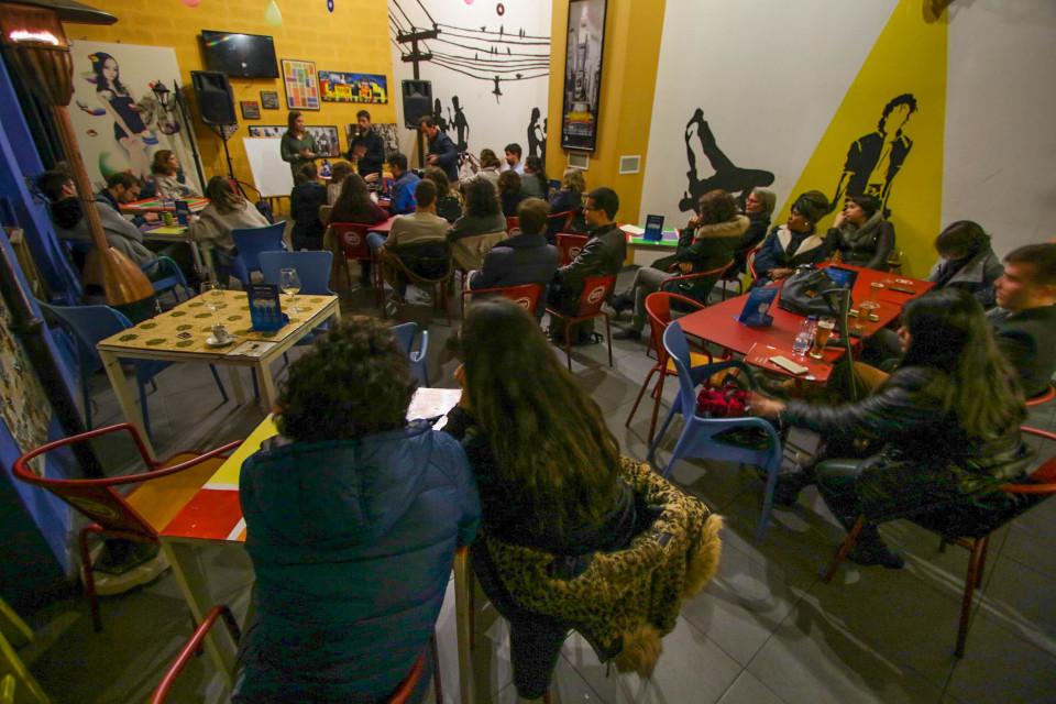 Visão e a arquitectura marcam o 27.º encontro com cientistas no bar em Braga