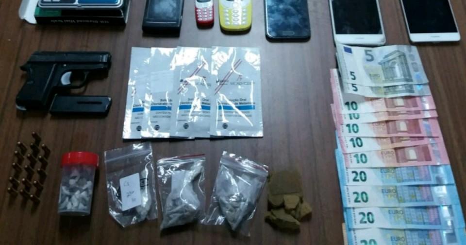 GNR desmantela rede trafico de droga em Guimarães e Fafe