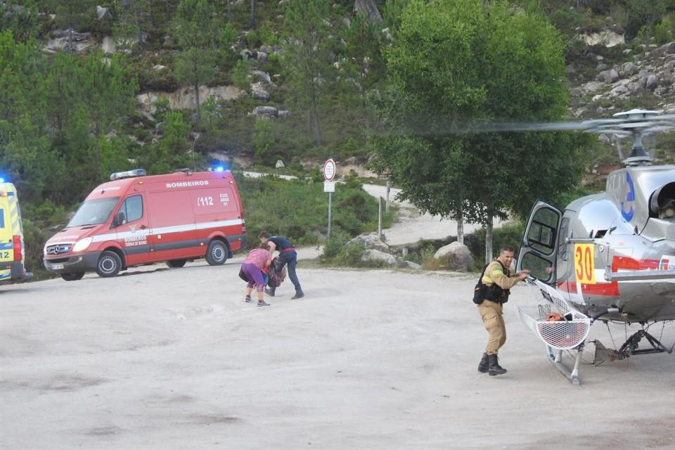GIPS da GNR resgatam 5 pessoas no Gerês esta quarta-feira