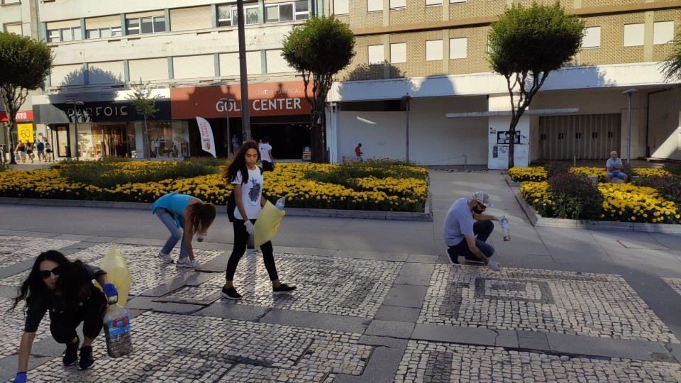 Braga Plogging bate novo recorde: 30 mil beatas recolhidas