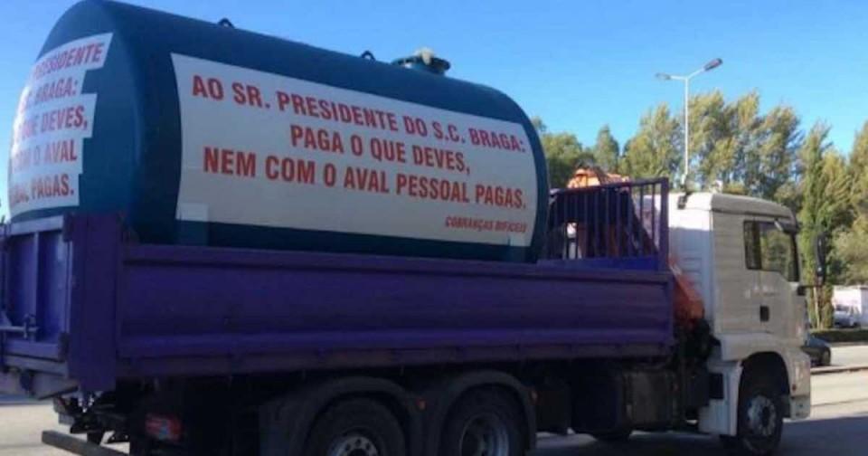Braga - 'Camião do fraque': Tribunal volta a obrigar António Salvador a pagar mais 500 mil a Domingos Correia