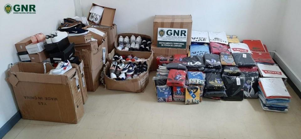 Apreendidos 503 artigos contrafeitos em Vieira do Minho