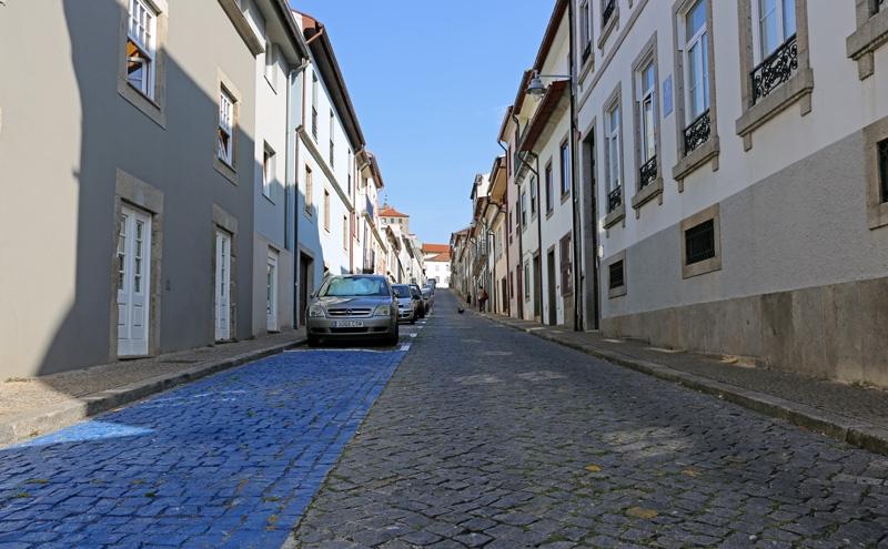 Câmara reordenou estacionamento na rua de São Geraldo