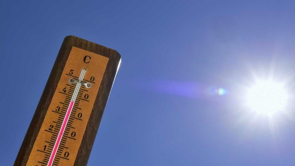 Braga em aviso amarelo devido ao calor; máximas entre 31 e 35 graus