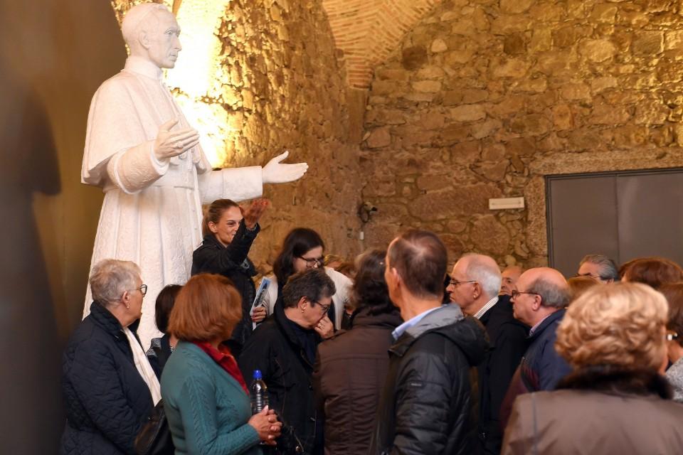 Idosos foram ao Museu Pio XII conhecer História e histórias de Braga