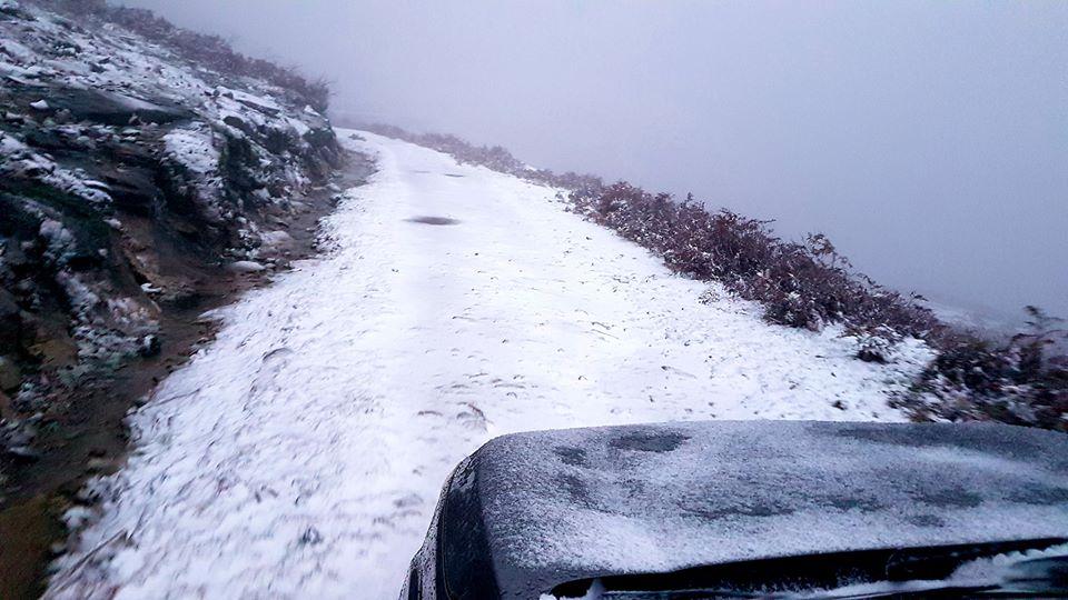 Neve chegou ao Parque Nacional da Peneda-Gerês