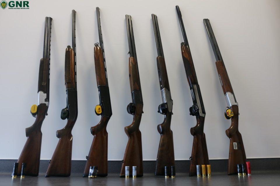 Sete detidos por caça ilegal em Fafe