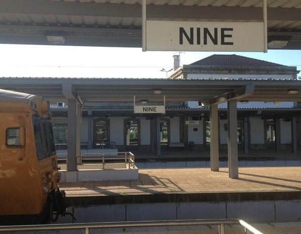 Octagenário colhido mortalmente por comboio em Nine