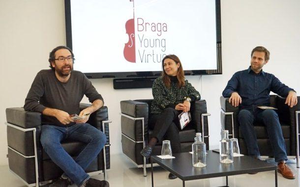 Jovens violinistas de todo mundo no palco do Braga Young Virtuosi em Setembro