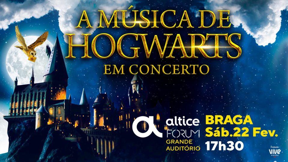 'A Música de Hogwarts em Concerto' no Altice Forum Braga (22 FEV)