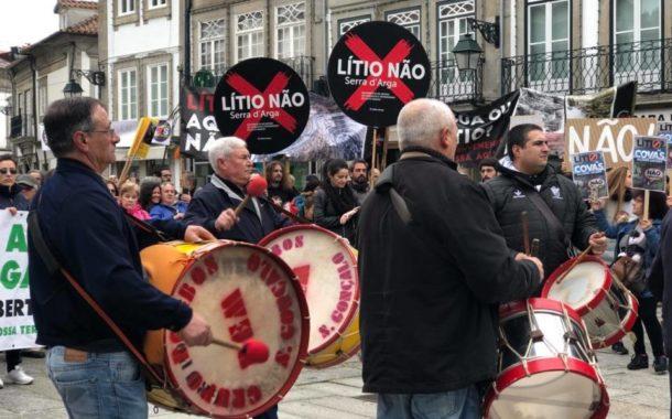 """Prospecção de lítio. SOS Serra d' Arga entrega Carta Aberta a António Costa a exigir """"transparência"""" e """"participação pública"""""""