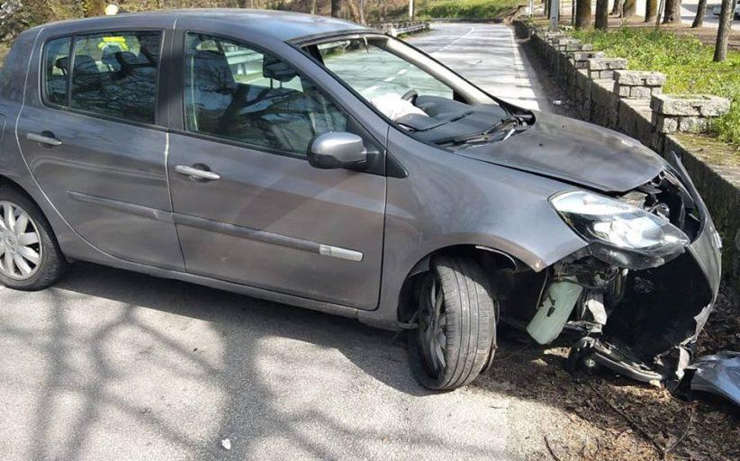 Braga. Dois feridos em despiste na Falperra