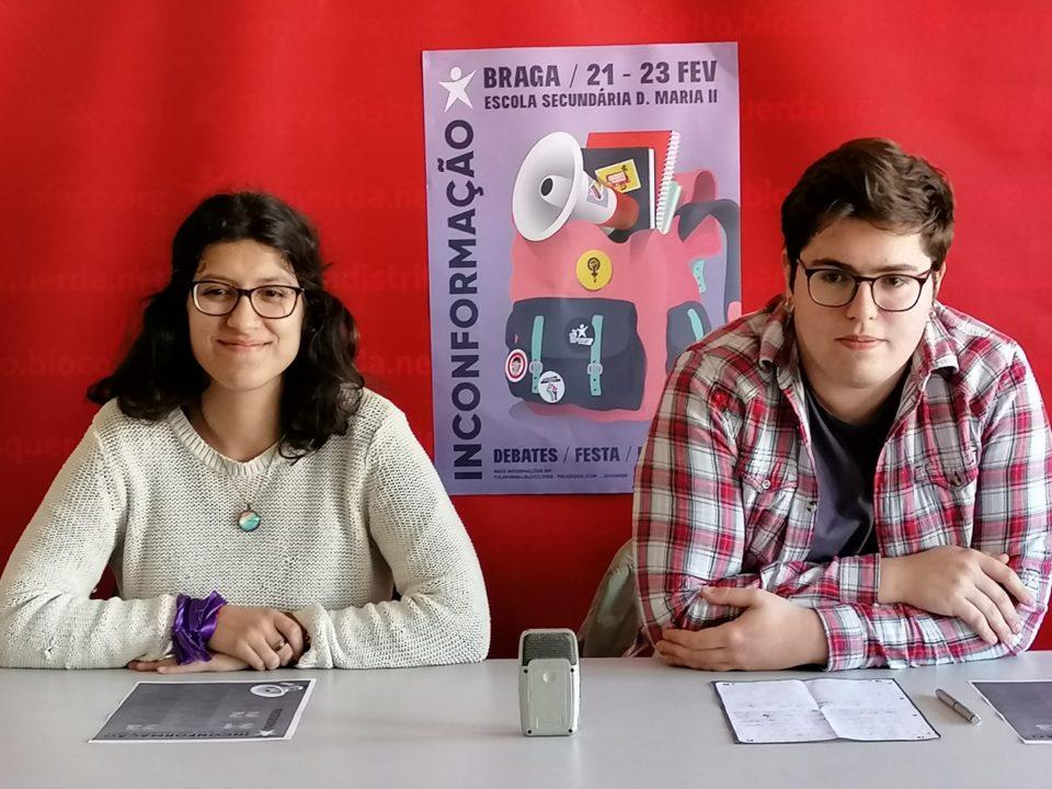 'InconFormação' reúne este fim-de-semana em Braga jovens do BE. Louçã e Catarina Martins no encerramento