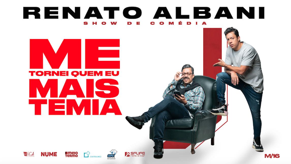 Renato Albani leva stand-up comedy ao Altice Forum de Braga (29 FEV)