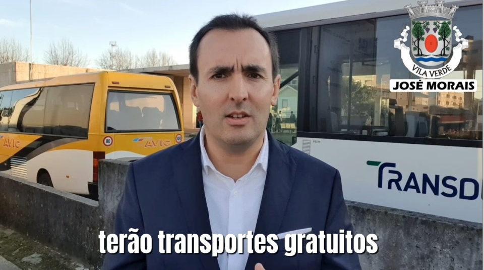Vila Verde. José Morais (PS) elogia acção do Governo para possibilitar redução do tarifário dos transportes