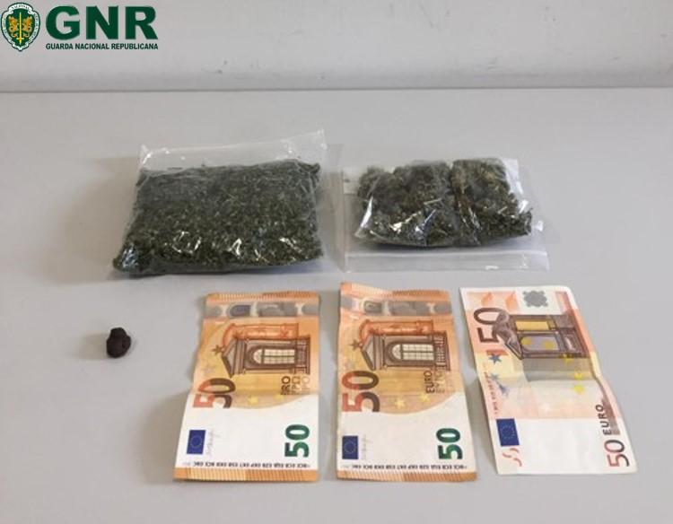 Detido por tráfico de droga no Sameiro