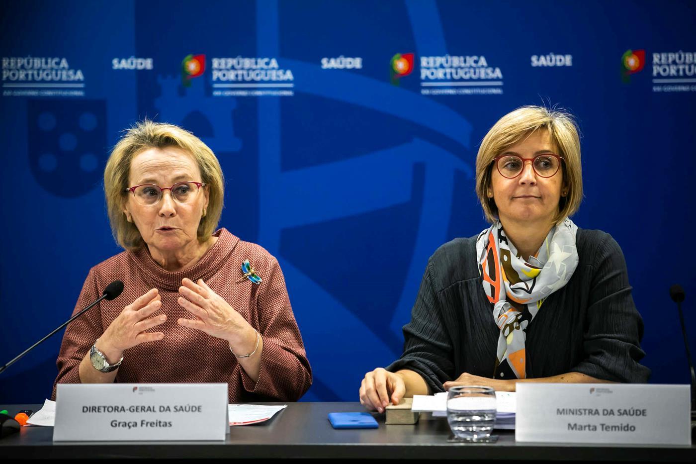 "Marta Temido alerta: sem civismo, ""a epidemia vai avançar"""