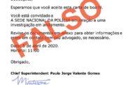 Atenção! Está a circular um email falso enviado em nome da PSP