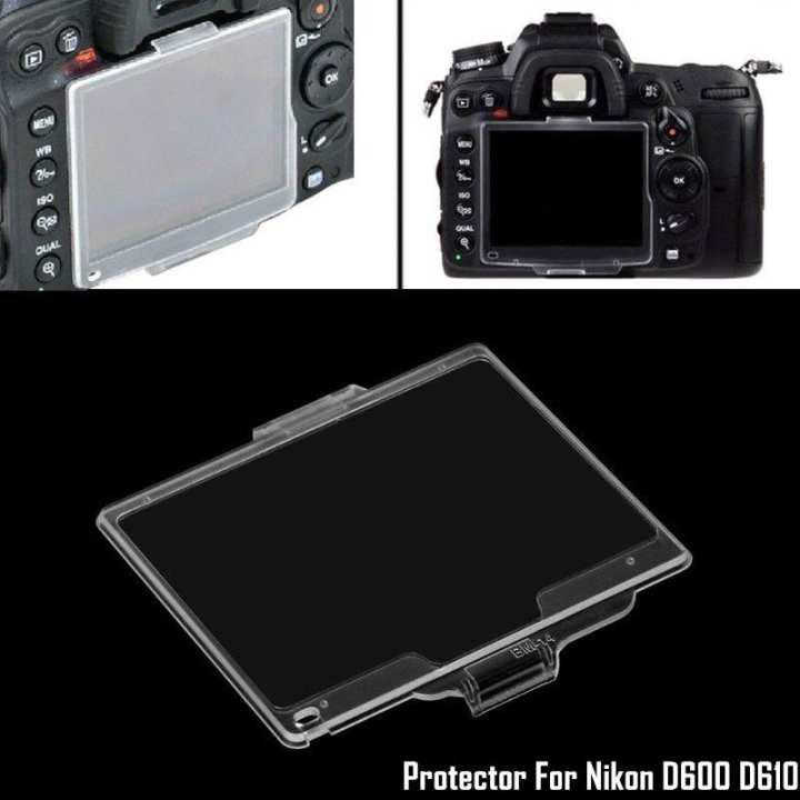 BM-14 Hard Plastic LCD Screen Monitor Protective Cover for Nikon D600//D610