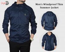 Men's Summer Windproof Single Layer Jacket