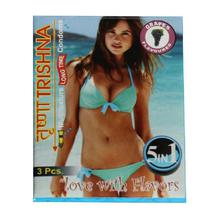 Trishna Love With Flavors Condoms (Grapes Flavored) 3 Pcs
