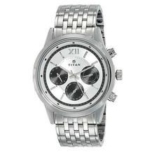 Titan Neo Black Dial Chronograph Watch For Men - 1766SM03