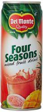 Del Monte Four Season Juice 180ml