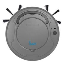 Bowai Rechargeable Robot Vacuum Cleaner - Black