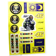 Decals (stickers) - VR46 (Yellow)