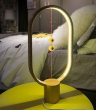 Heng Lamp Wooden Ellipse