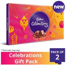Cadbury Celebrations Assorted Chocolate Gift Pack-175g (Pack of 2)