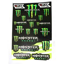 Decals (stickers) - Monsters (Type 1)