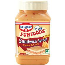 Funfoods Sandwich Spread Cheese & Chilli-275gm
