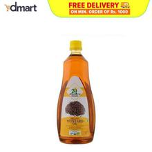 24 Mantra Organic Mustard Oil, 1 Ltrs