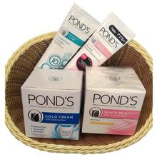 Combo of 4 POND'S Moisturising Cold Cream - 100ml, POND'S White Beauty SPF 15 PA Anti-Spot Fairness Cream - 50g, POND'S Pimple Clear Face Wash - 50g and POND'S White Beauty Daily Spotless Fairness Face Wash - 50g
