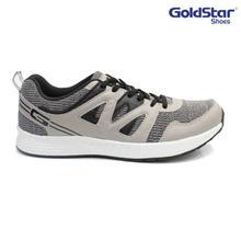 Goldstar Grey/Black G10 Running Shoes For Men - G202
