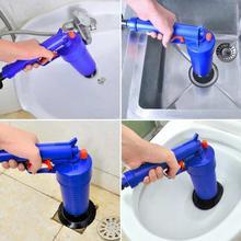 Air Drain Blaster Pump Plunger Sink Pipe Clog Remover Toilets Bathroom Kitchen Cleaner -