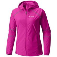 Columbia Groovy Pink Sweet As Softshell Hooded Jacket For Women- 1545251