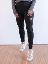 Yala Wears Black Plus Size Leggings For Women
