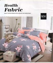 Flora Printed Cotton Bed Sheet With 2 Pillow Cover And 1 Blanket Cover - King Size