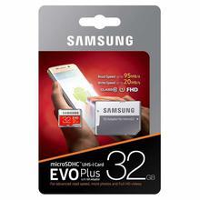 Samsung EVO Plus Micro SD SDHC Memory Card - 32GB