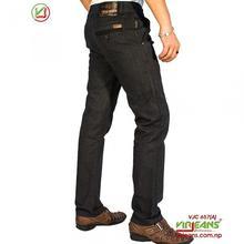 Virjeans Printed Linen Pant (VJC 657) Black