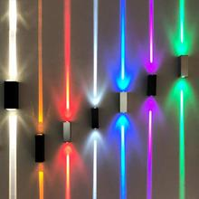 LED Wall Lamp Waterproof Effect Light Indoor Lighting For Hallway KTV Decoration