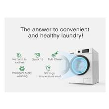 Syinix 6Kg Front Load Fully Automatic Washing Machine-(S7610)(With FREE KAAPA CREATION BED SHEET OF KING SIZE Worth of 2800 and TAMBO BAR PHONE FREE)