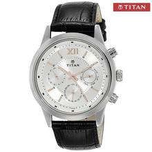 Neo Silver Dial Chronograph Watch For Men - 1766SL04